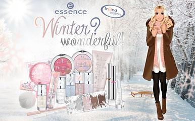 UNA COLECCIÓN TRANSPAPELADA DE ESSENCE: WINTER? WONDERFUL!!