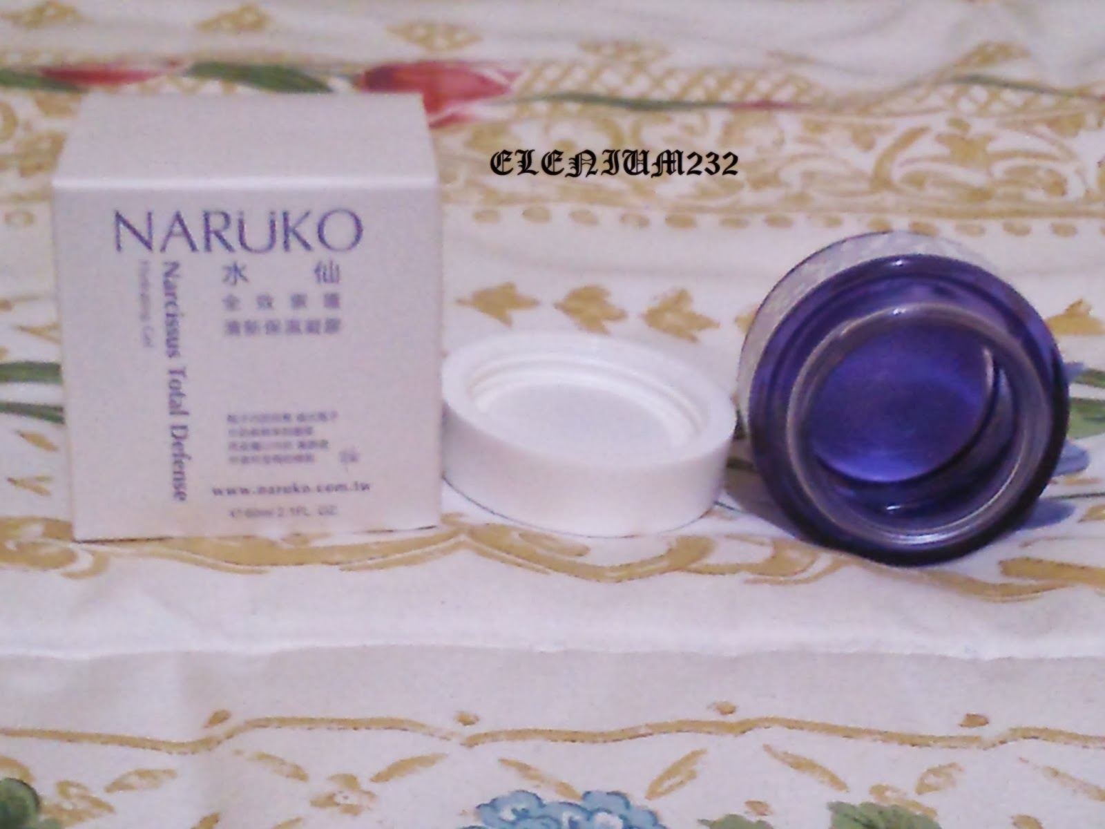 NARUKO : NARCISSUS TOTAL DEFENSES O  AND CREMA REPARADORA.