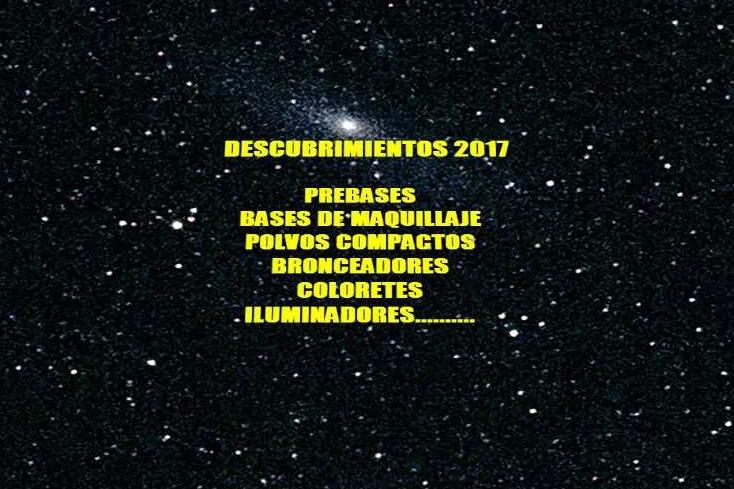 DESCUBRIMIENTOS 2017: ROSTRO.
