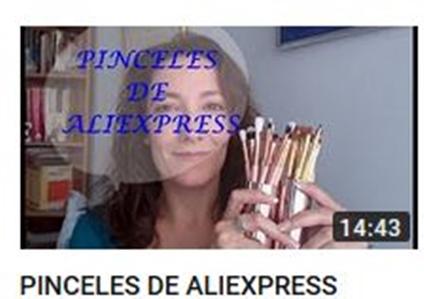PINCELES DE ALIEXPRESS