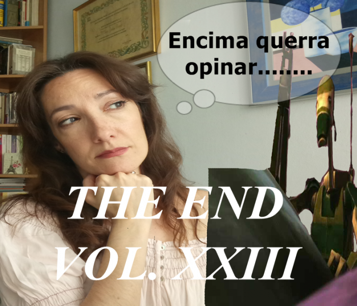 THE END VOL. XXIII