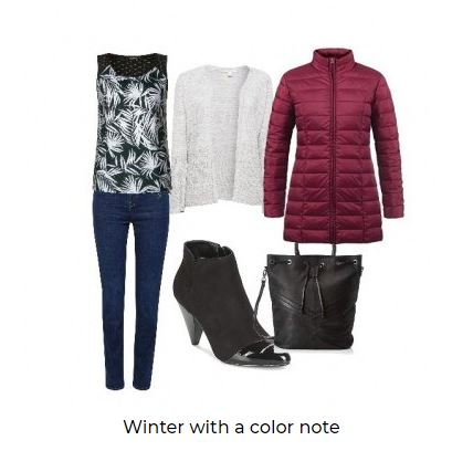 WINTER WITH A COLOR NOTE
