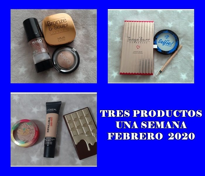 TRES PRODUCTOS UNA SEMANA FEBRERO 2020