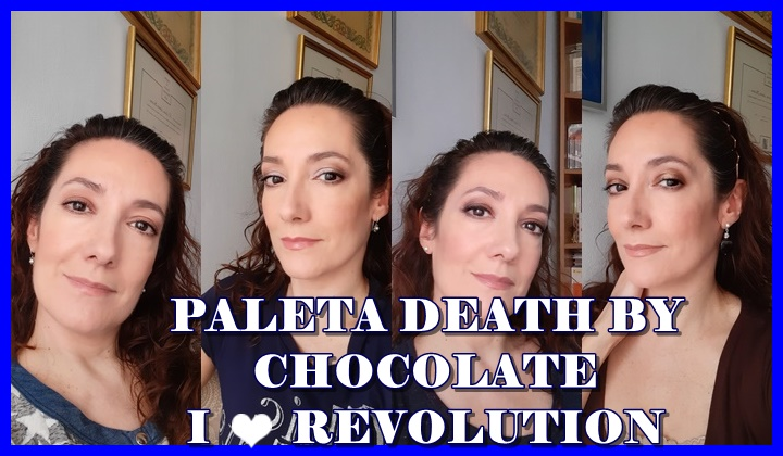 4 LOOKS PALETA DEATH BY CHOCOLATE